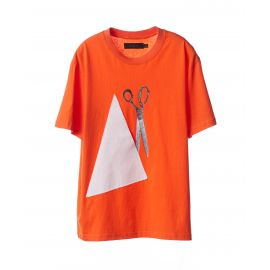 T-Shirt: Scissors & Patch