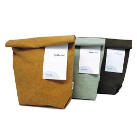 Vegan Leather Lunch Bags (Random Color)