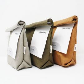 Vegan Leather Snack Bag (Random Color)